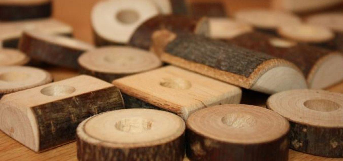 troncos de madera fira ecogra