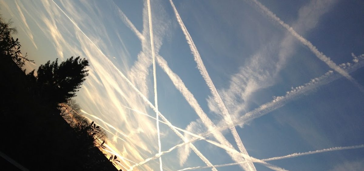 Chemtrails. Un perjuicio para la salud y el medioambiente